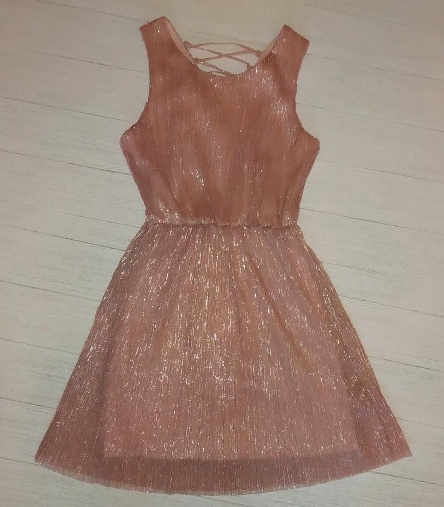 Коктейльное платье для девочки фото №1
