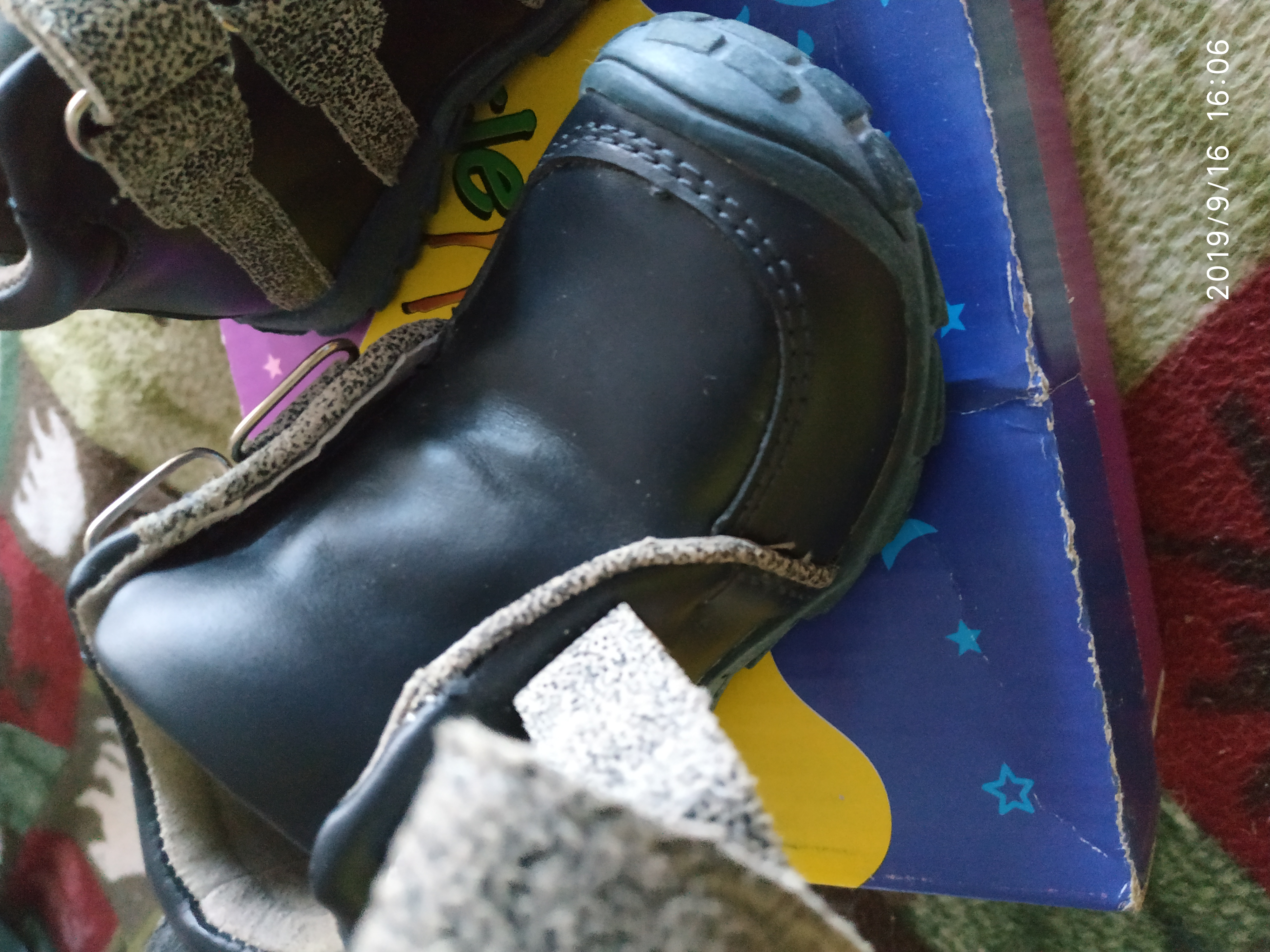 Кожаные ботиночки для малыша фото №4