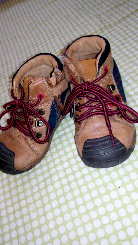 Ботинки geox, 100% кожа, демисезонные ортопедическая стелька фото №2