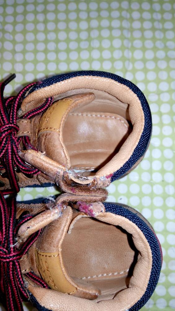 Ботинки geox, 100% кожа, демисезонные ортопедическая стелька фото №3