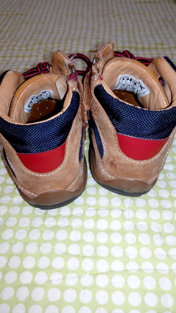 Ботинки geox, 100% кожа, демисезонные ортопедическая стелька фото №4
