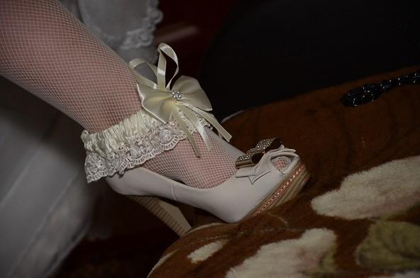 Продам свадебные туфли фото №1