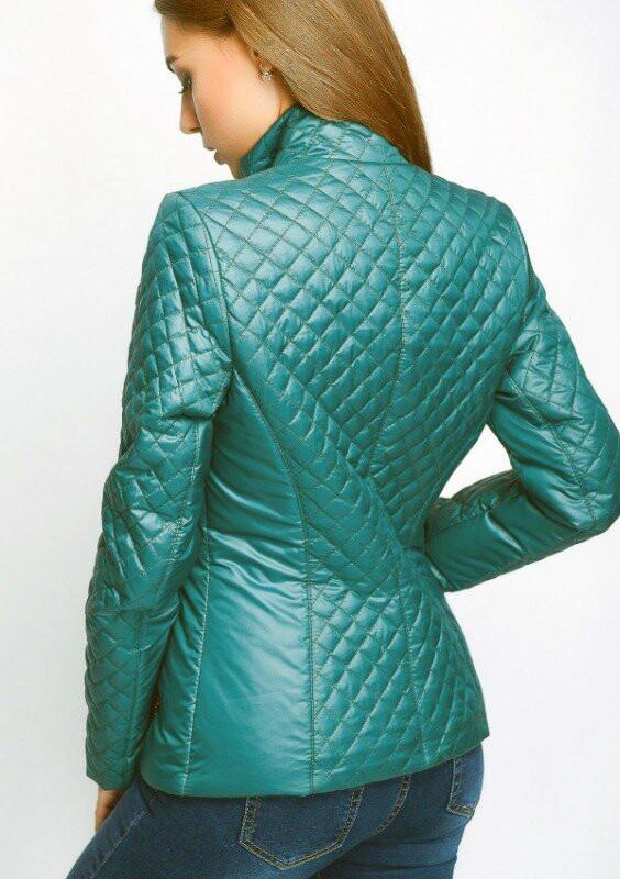 Стеганая женская куртка весна-осень, р.42 фото №2