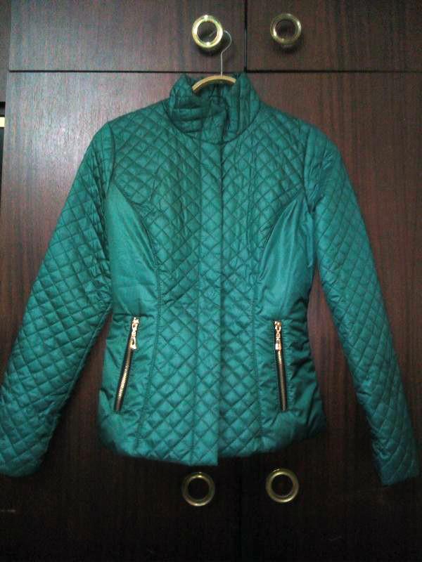 Стеганая женская куртка весна-осень, р.42 фото №3