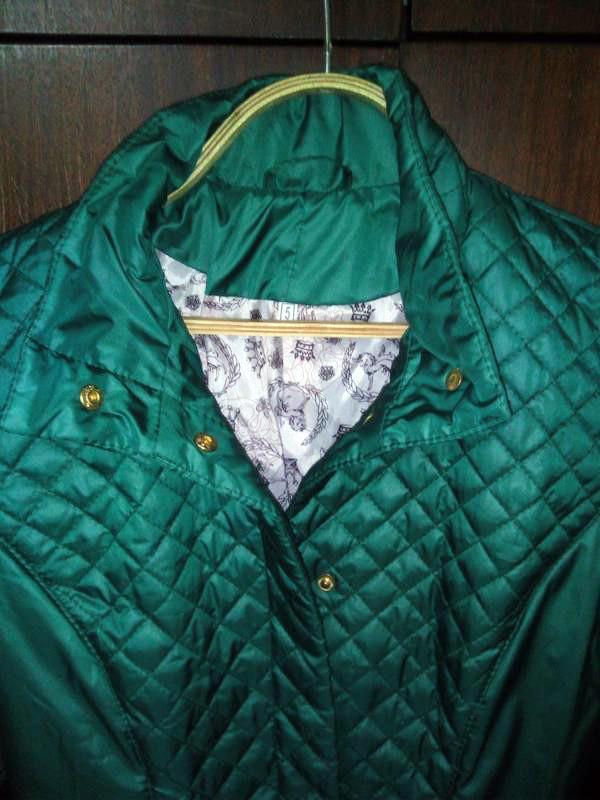 Стеганая женская куртка весна-осень, р.42 фото №4