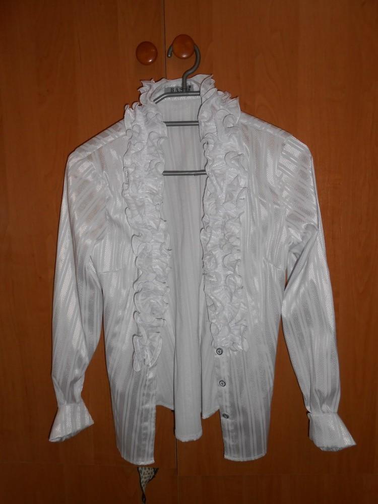 Новая белая блузка фото №1
