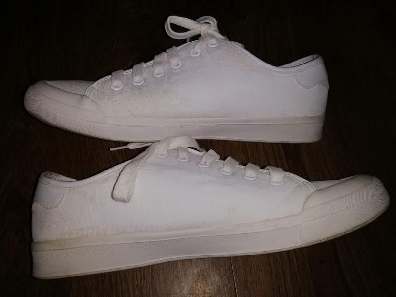 Женский белые кеды, мокасины на шнурках с вышивкой 41 р. atmosphere фото №2