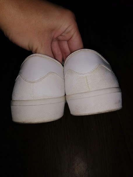Женский белые кеды, мокасины на шнурках с вышивкой 41 р. atmosphere фото №5