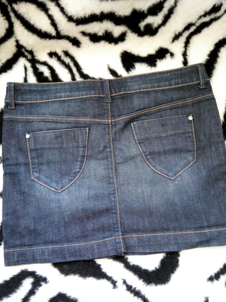 Классная джинсовая юбка бренда clockhouse фото №2