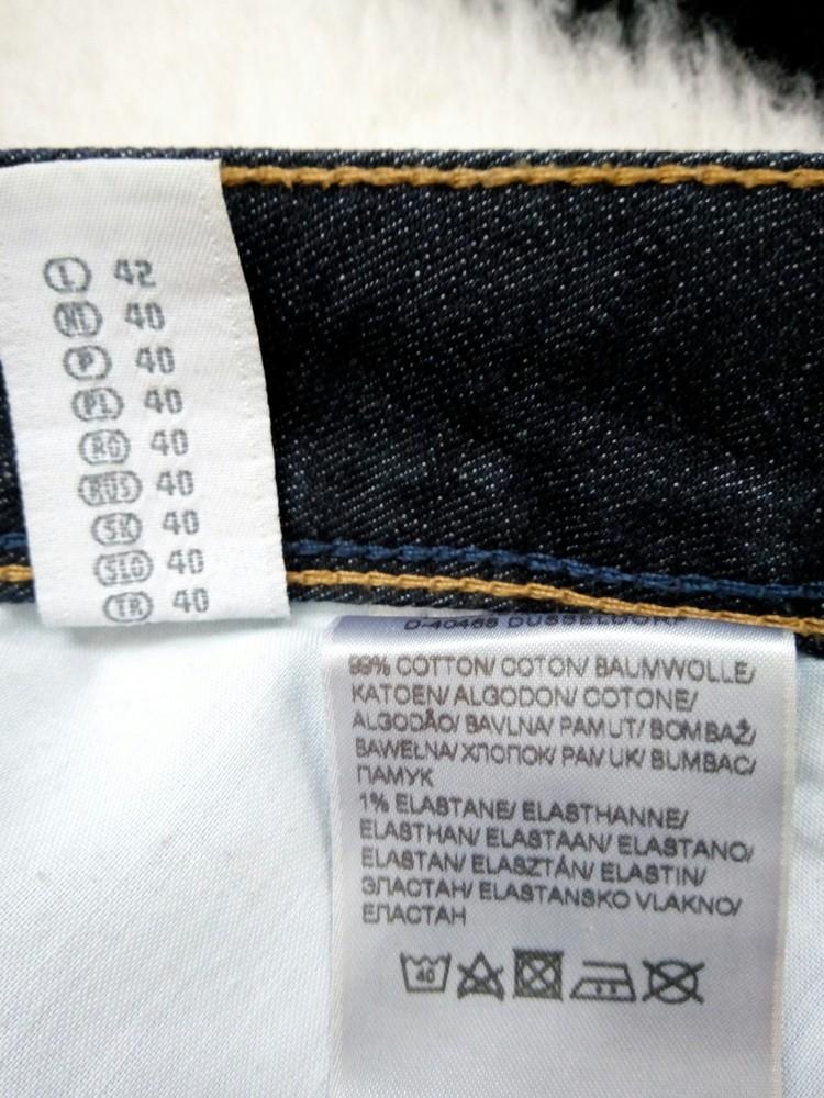 Классная джинсовая юбка бренда clockhouse фото №3