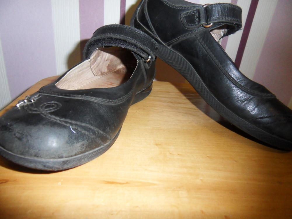 Школьные кожаные туфли next фото №2