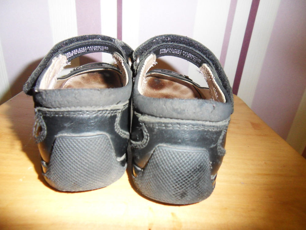 Школьные кожаные туфли next фото №3