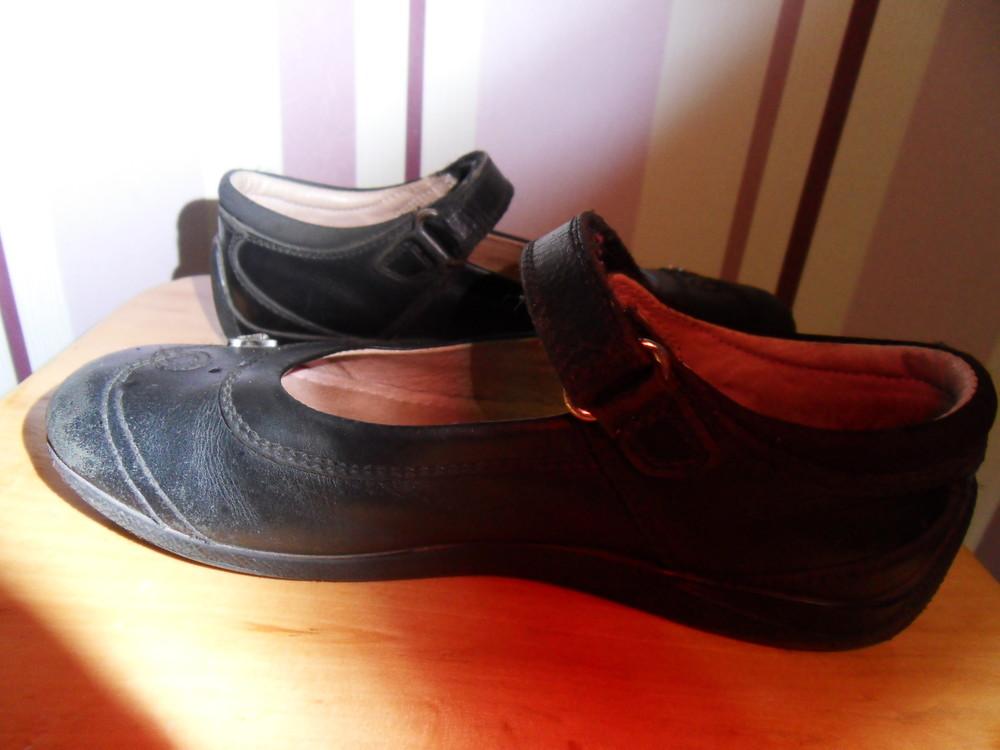 Школьные кожаные туфли next фото №4