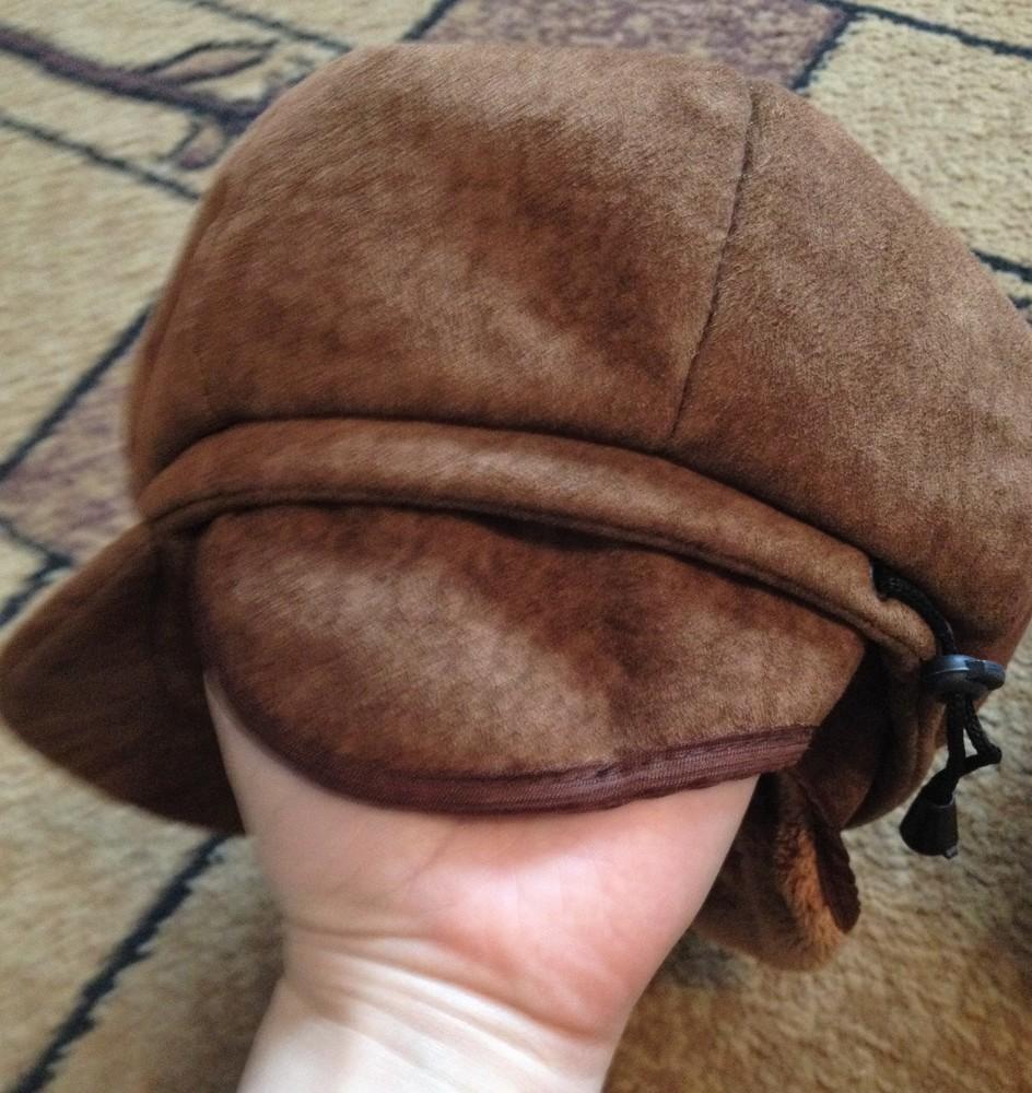 Продам кепку утепленную для девочки фото №4