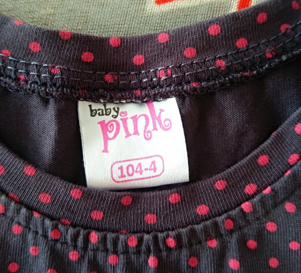 Красивый комплект платье и топ baby pink р. 4(104) фото №5