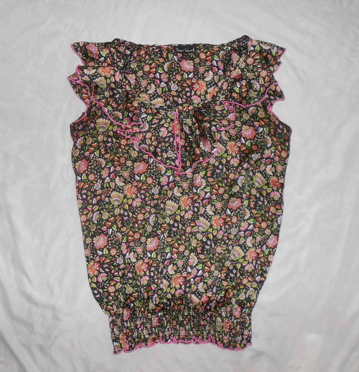 River island топ блуза с оборками, р.12, европ.38, м-ка фото №2