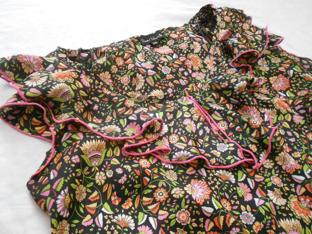 River island топ блуза с оборками, р.12, европ.38, м-ка фото №3