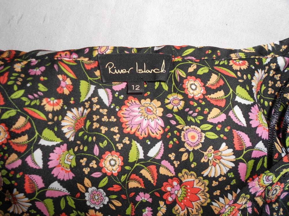 River island топ блуза с оборками, р.12, европ.38, м-ка фото №4
