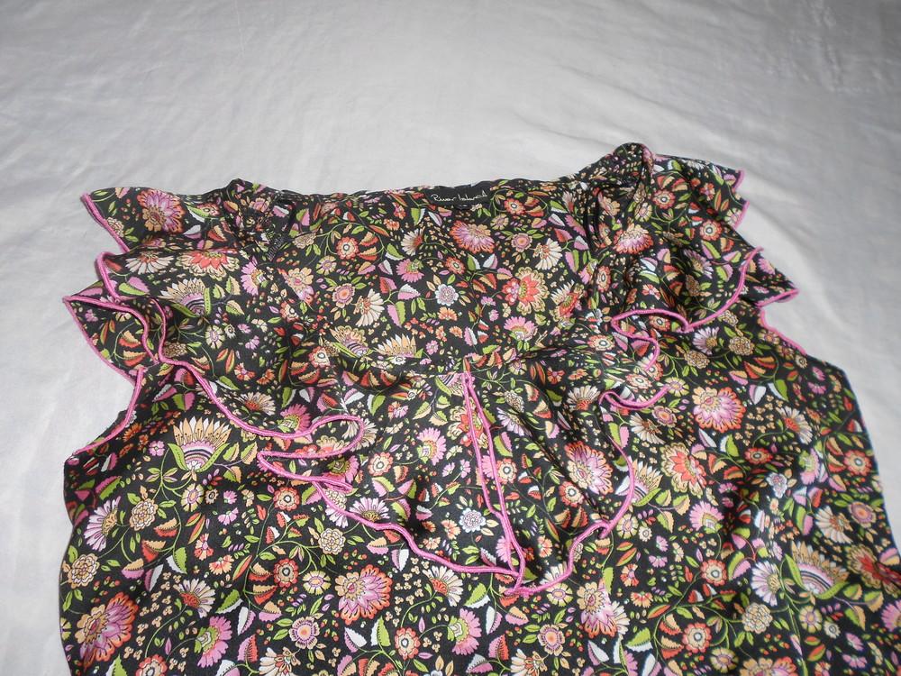 River island топ блуза с оборками, р.12, европ.38, м-ка фото №7