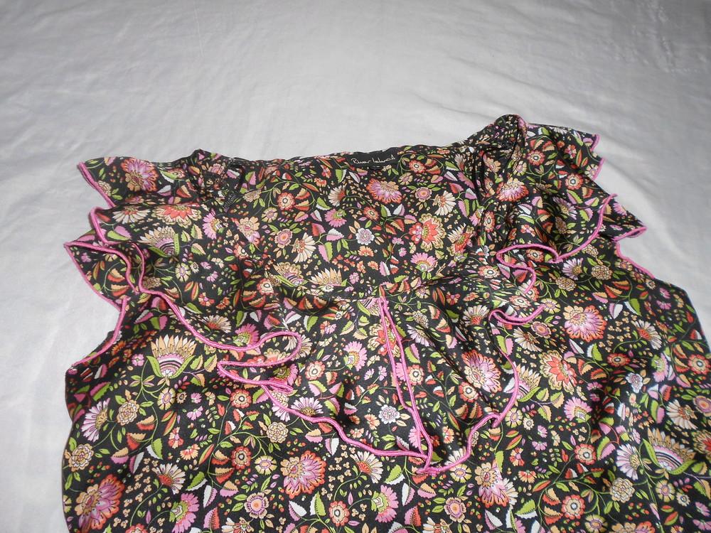 River island топ блуза с оборками, р.12, европ.38, м-ка фото №8