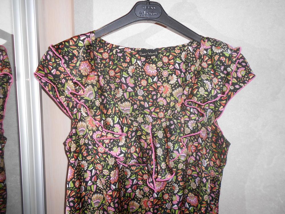 River island топ блуза с оборками, р.12, европ.38, м-ка фото №10