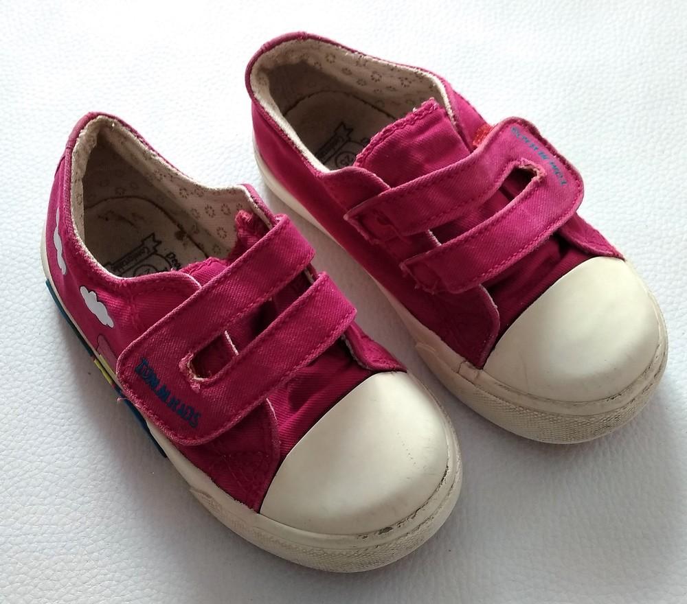 Розовые текстильные кеды tom.m р. 25 фото №2