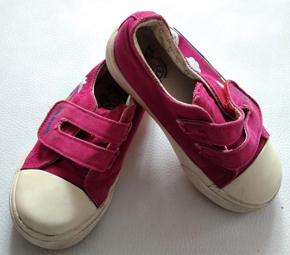 Розовые текстильные кеды tom.m р. 25 фото №3