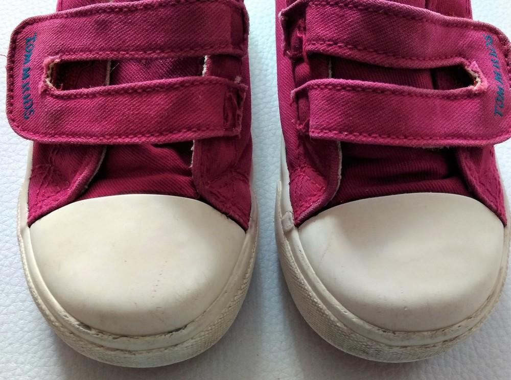Розовые текстильные кеды tom.m р. 25 фото №5