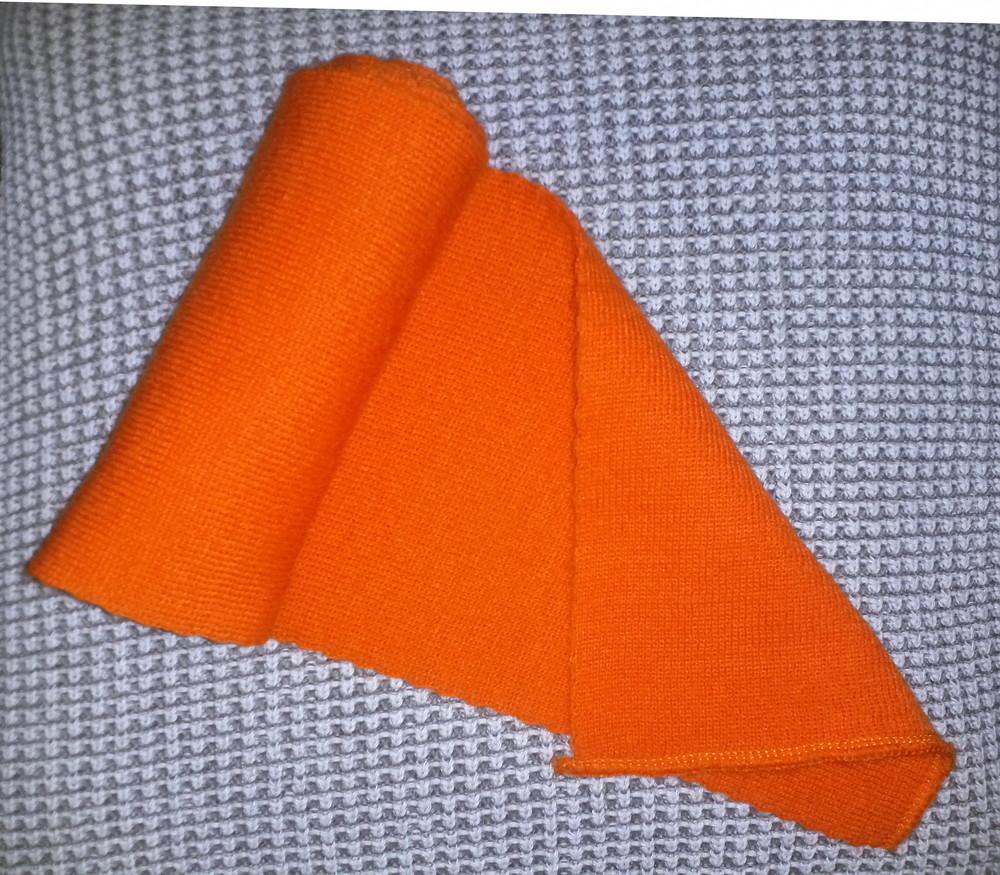 Одежда вещи аксессуары детские шарфик яркий оранжевый фото №1
