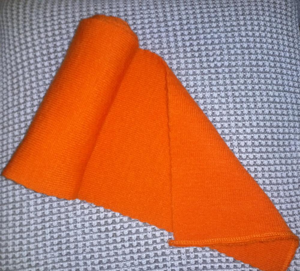 Одежда вещи аксессуары детские шарфик яркий оранжевый фото №2