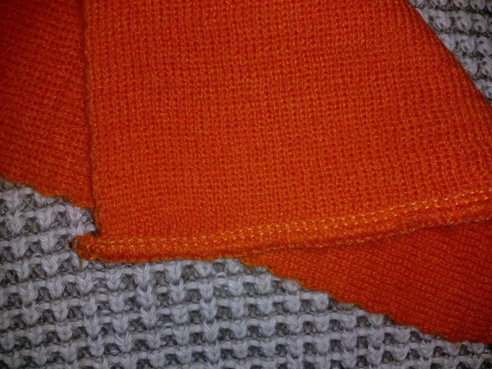 Одежда вещи аксессуары детские шарфик яркий оранжевый фото №3
