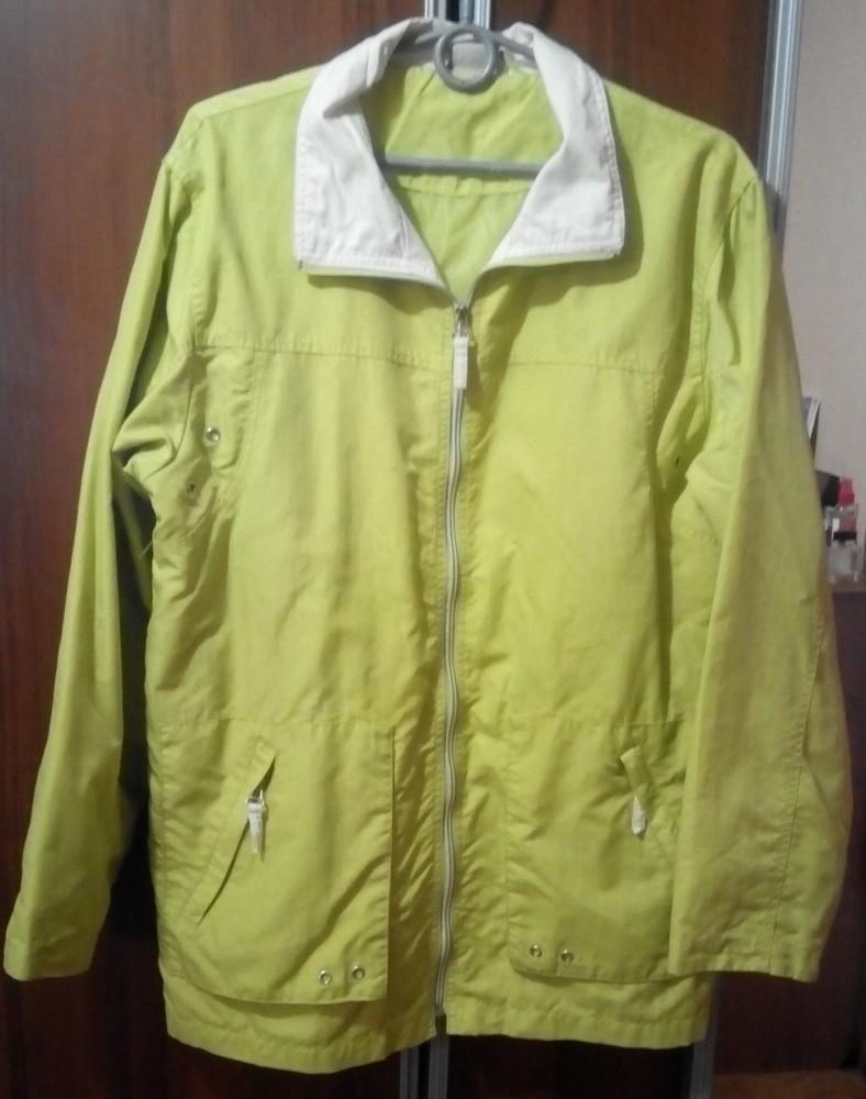 Ветровка, легкая весенняя куртка, пог 56 см фото №1