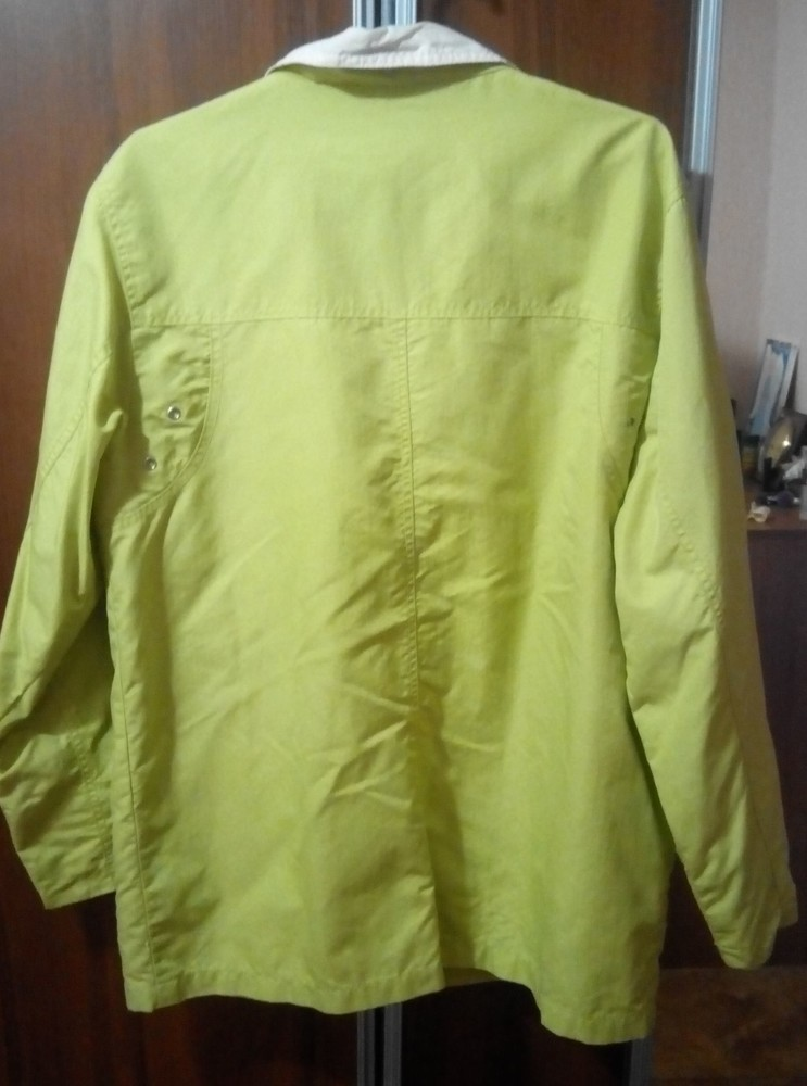 Ветровка, легкая весенняя куртка, пог 56 см фото №2