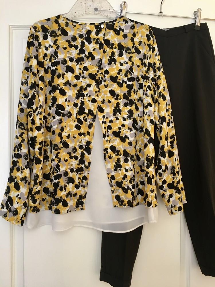 Блузка с принтом свободного кроя h&m фото №2
