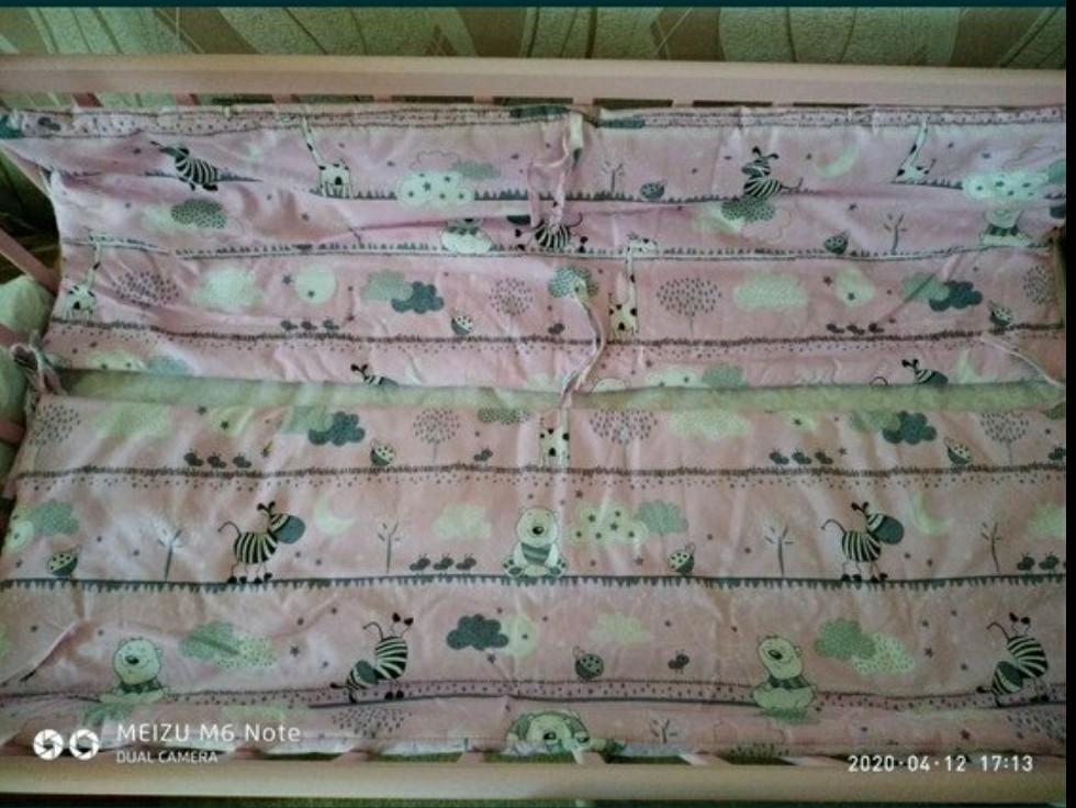 Бортики-защита в кроватку фото №3