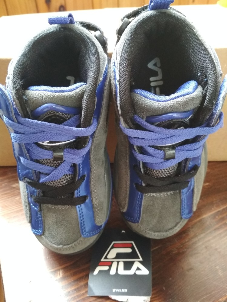 Детские новые демисезонные кроссовки fila usa, оригинал , размер us9 eur 26, 17см фото №9