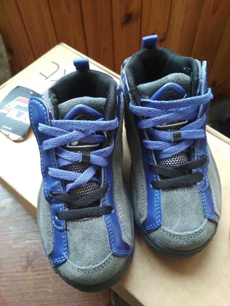 Детские новые демисезонные кроссовки fila usa, оригинал , размер us9 eur 26, 17см фото №10