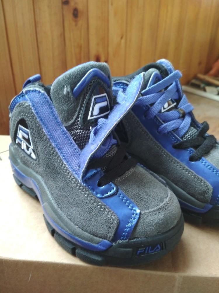 Детские новые демисезонные кроссовки fila usa, оригинал , размер us9 eur 26, 17см фото №4