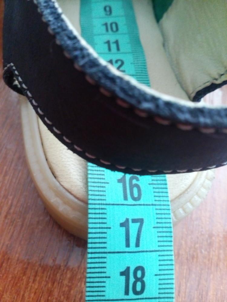 Босоножки кожаные 26 р 16 см. сандалики фото №9