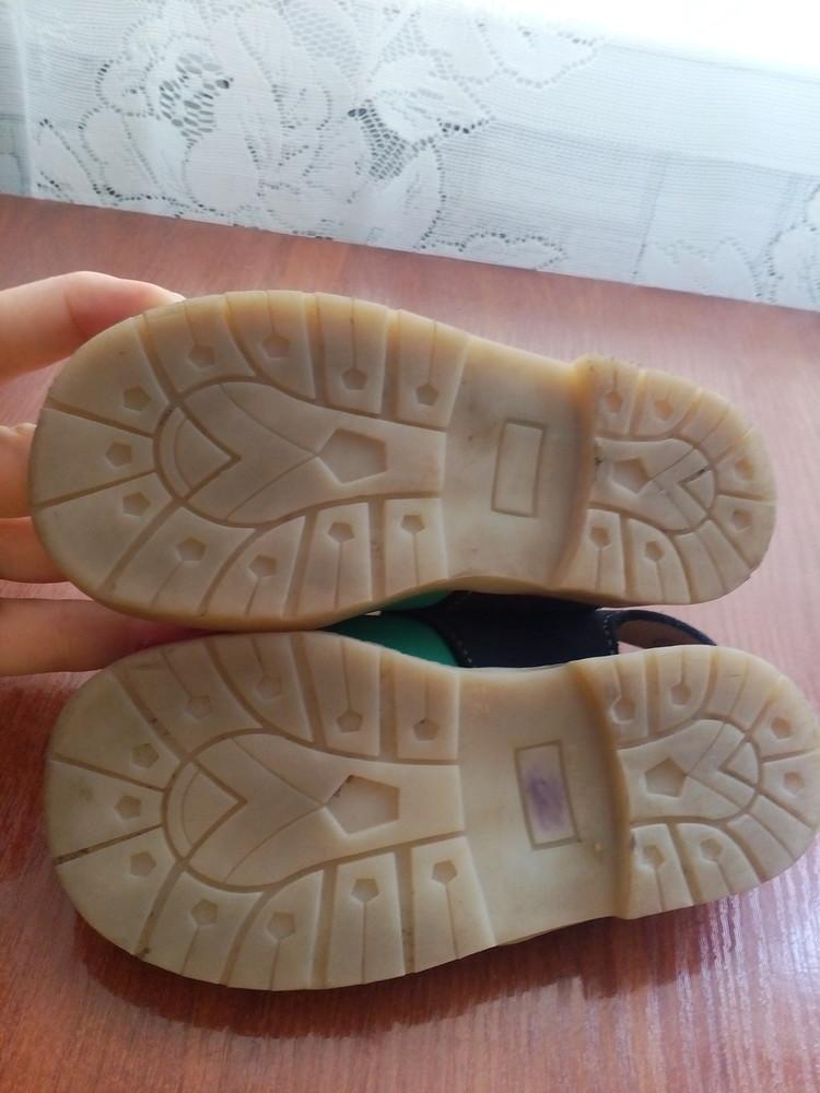 Босоножки кожаные 26 р 16 см. сандалики фото №10