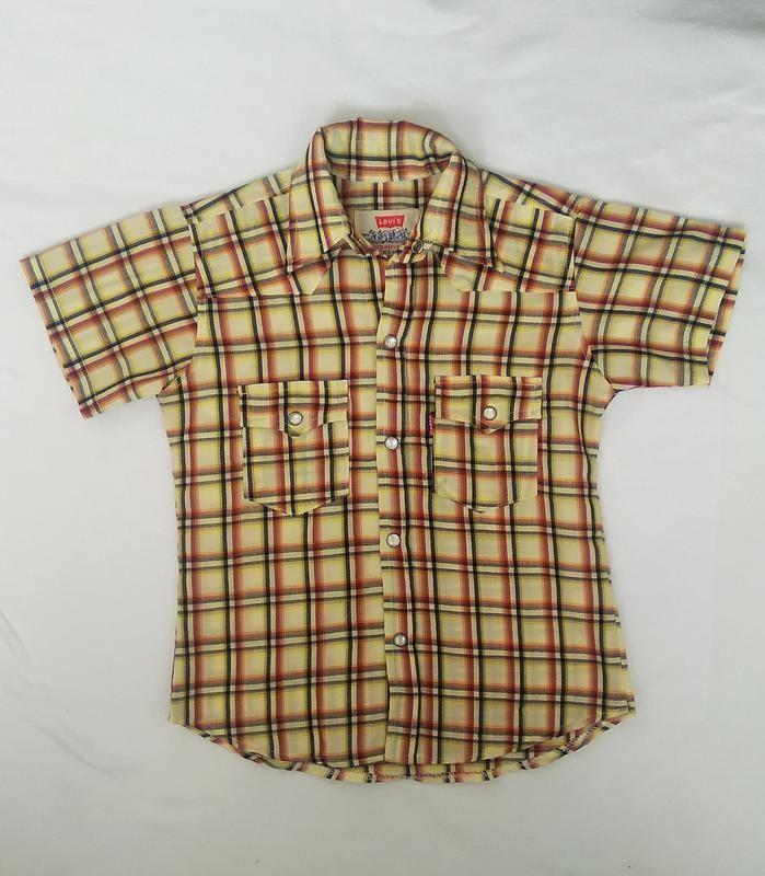 Фирменная рубашка levi's фото №1