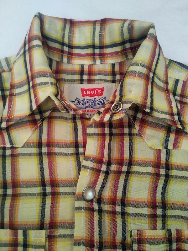 Фирменная рубашка levi's фото №2