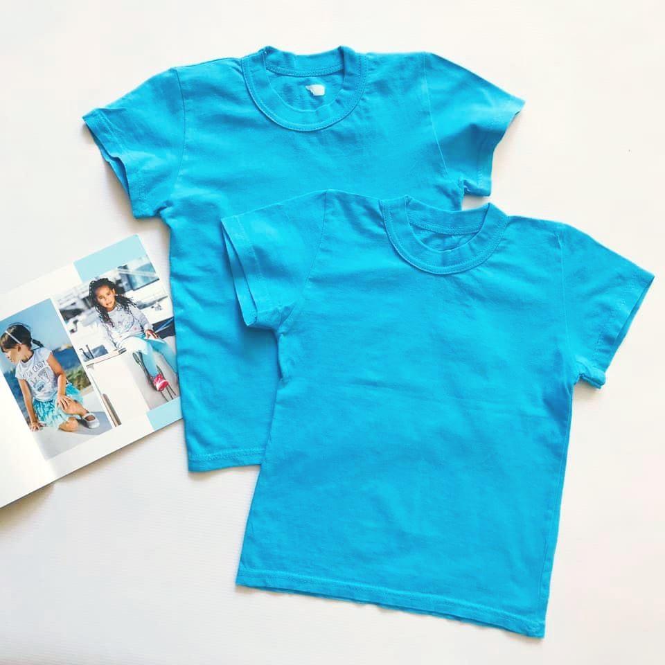 Школа, детский сад - однотонные футболки унисекс на р122-134 фото №1
