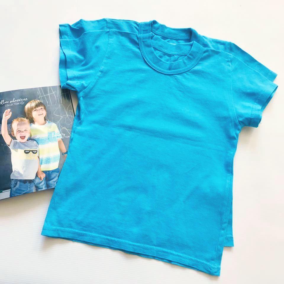 Школа, детский сад - однотонные футболки унисекс на р122-134 фото №2