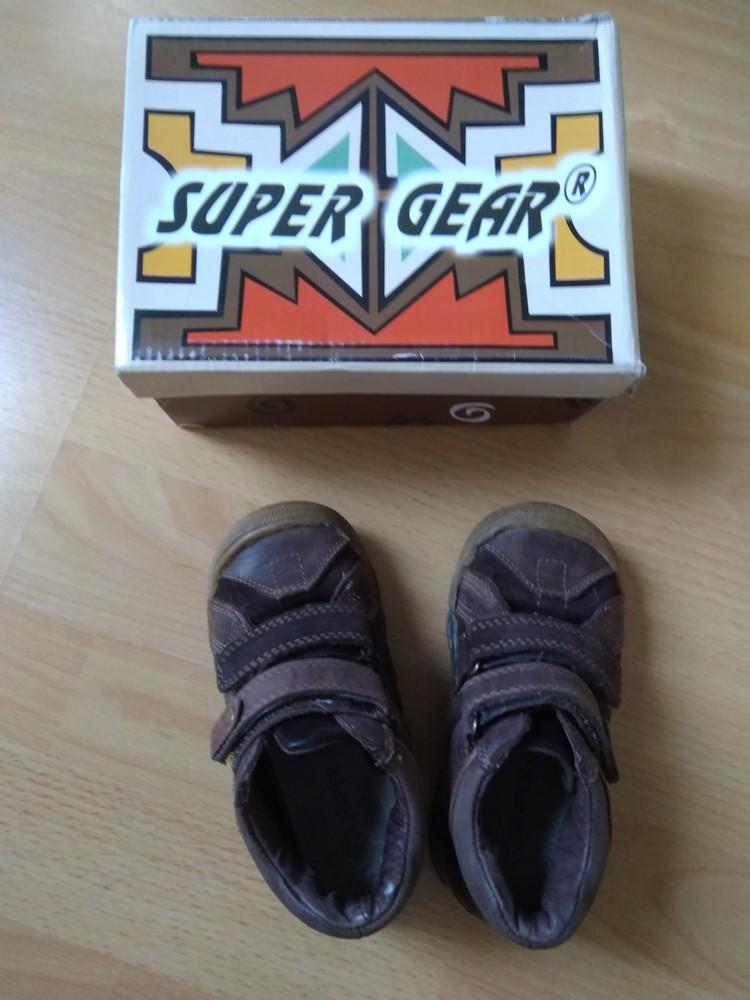 Демісезонні черевики з натурального замшу, 15,5 см + подарунок! фото №1