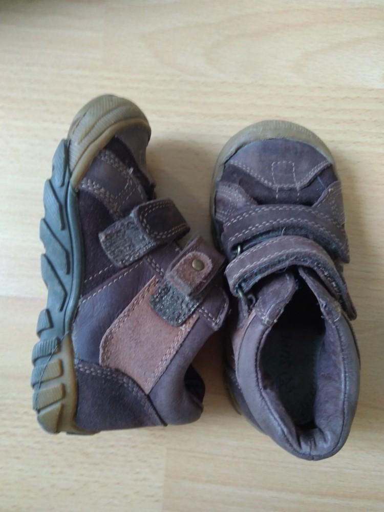 Демісезонні черевики з натурального замшу, 15,5 см + подарунок! фото №2