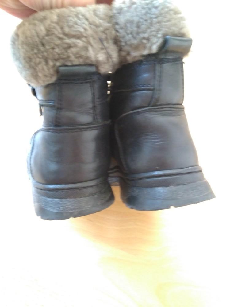Зимові шкіряні чобітки, 15 см + подарунок! фото №2
