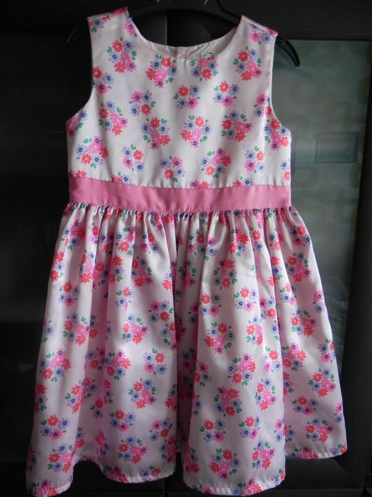 Нарядное платье carter's на девочку 4t, б,у фото №1
