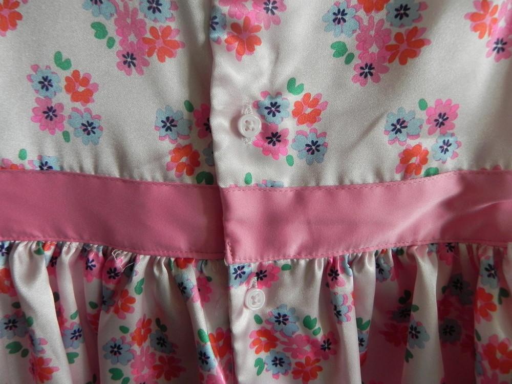 Нарядное платье carter's на девочку 4t, б,у фото №3
