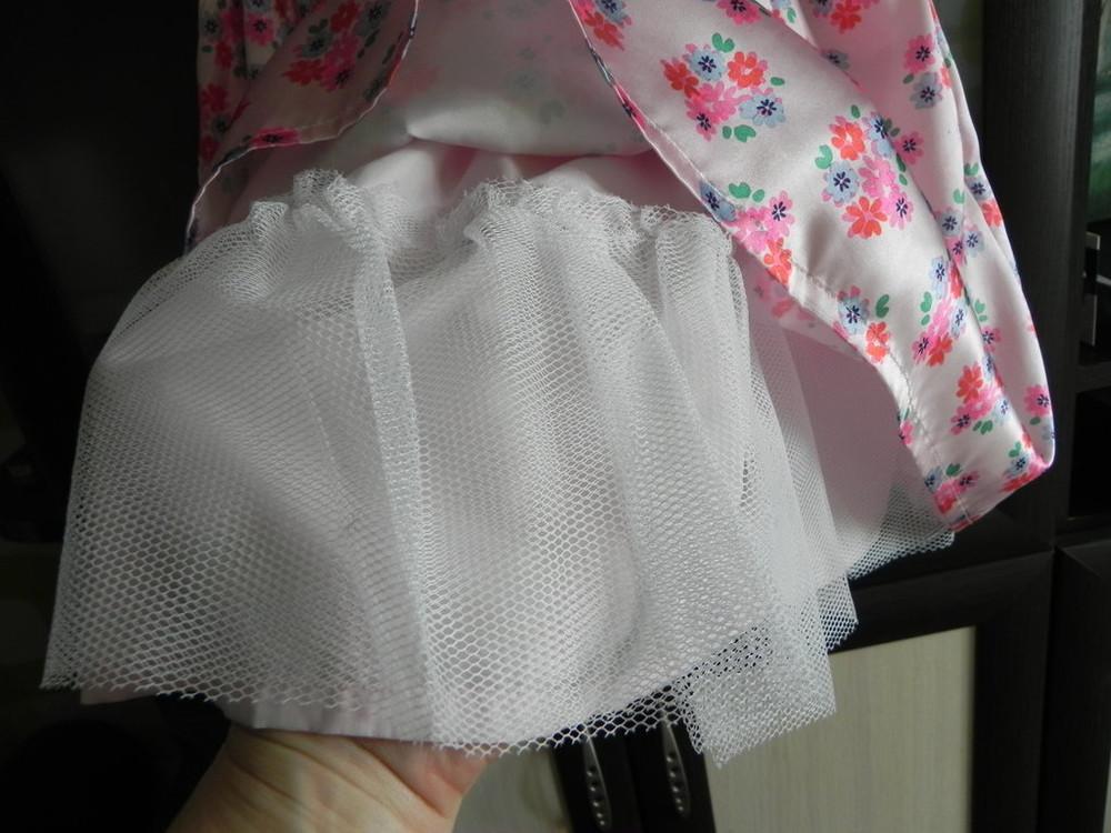 Нарядное платье carter's на девочку 4t, б,у фото №4